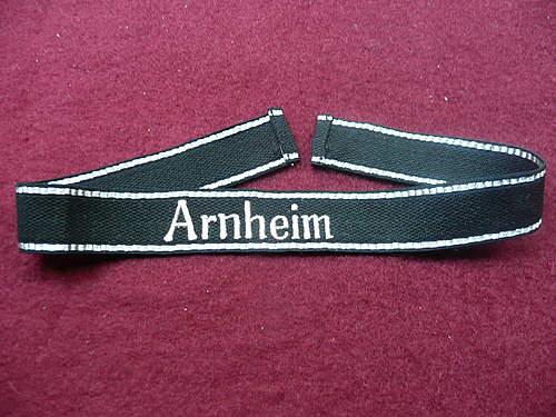 Arnheim cufftitle