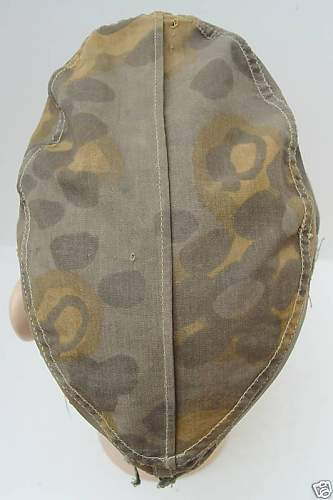 SS Camo Cap, plane tree pattern