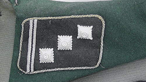 waffen ss tunic dodgy   at best