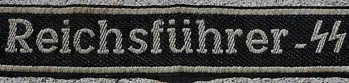 RFSS Cuff Title