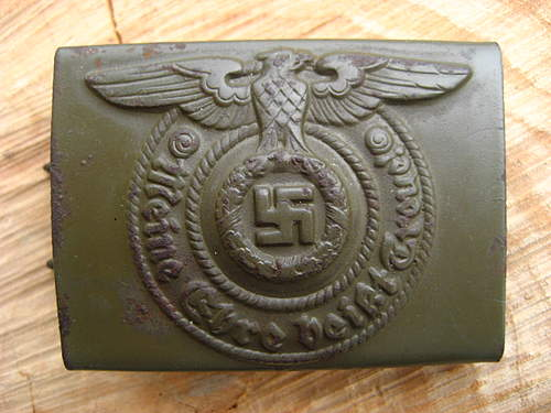SS buckle from sandy ground-see condition