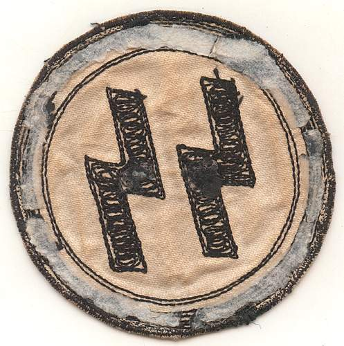 chain stitched ss sport patch