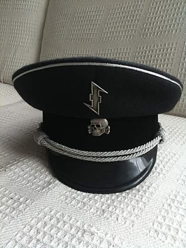 SS Wolfsangel Officers Cap