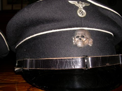 Allgemeine-SS enlisted/nco's visor caps/ WHICH DO YOU LIKE?