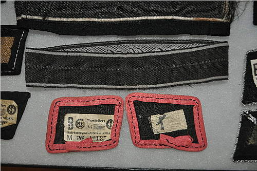 What do you think about these SS panzer collar tabs