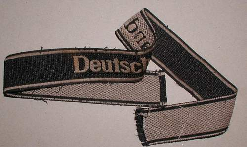 Deutschland arm band.Real or fake?
