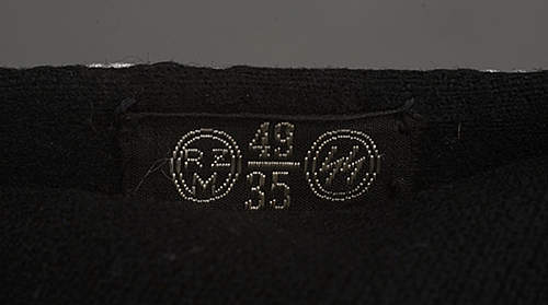 Black SS tunic arrival