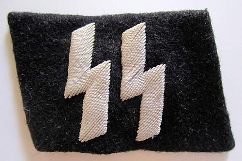SS collar tab runes