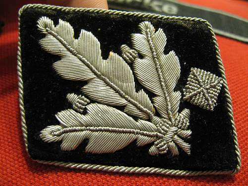 Oak? Collar Tab ... Hopefully real!