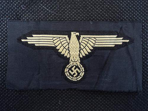 Tropical BeVo Waffen SS Sleeve Eagle