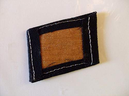 13th Waffen Mountain Division SS Handschar (1st Croatian) collar tab