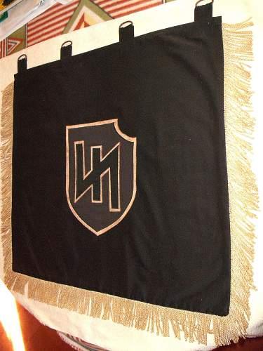 """2nd SS Panzer Division """"Das Reich"""" Trumpet Banner?"""