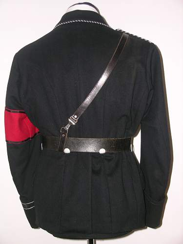 Allg. SS tunic with early visor