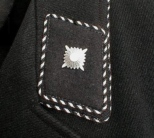 SS Scharfuhrer rank tab