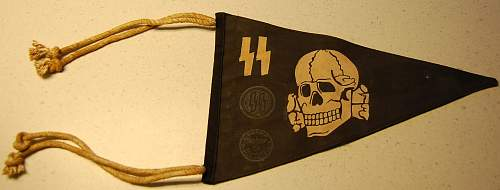 NEED HELP IS THIS REAL SS Pennant
