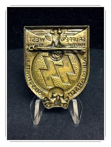1933 SS Gruppe West Tinnie