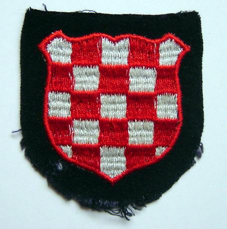 Croatian volunteers armshield