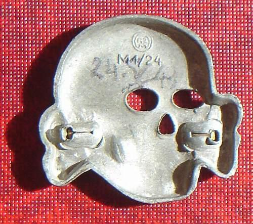 Is this skull original Overhoff ?