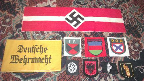 Waffen-SS & Other Volunteer Items! NEW PICKUPS!