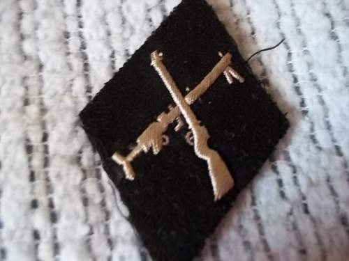 unidentified SS patch