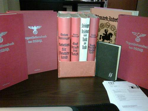 Grenadier Military Antiques has just posted many new outstanding SS items.
