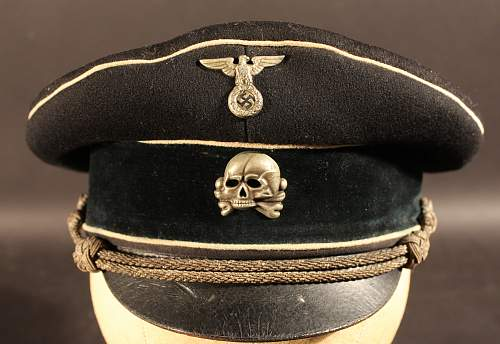 early SS officer's cap.