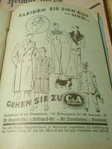 Real Allgemeine SS pants?