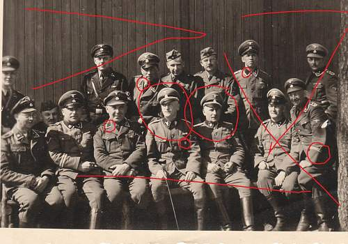 Lager Neubrandenburg staff, spring, 1940