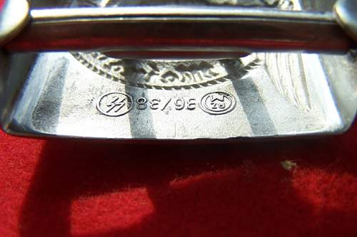 SS Belt buckle 36/38