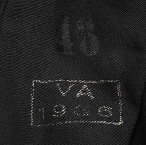 Allg / SS VT tunic questions: medical pockets, sleeve linings, stamps