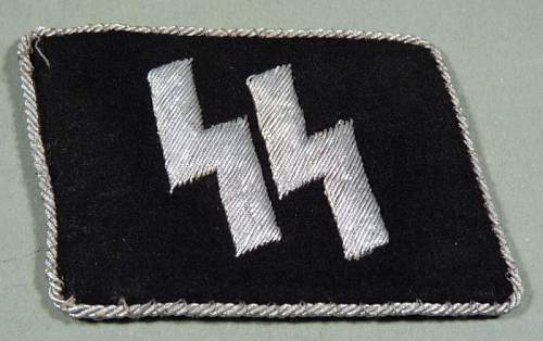 Another SS officer tab for your opinion please