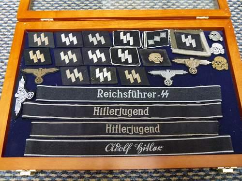 Reichsfuhrer SS Bevo Cuff Title