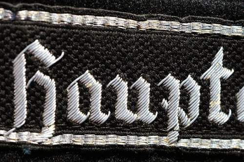 RFSS cuff title of note.