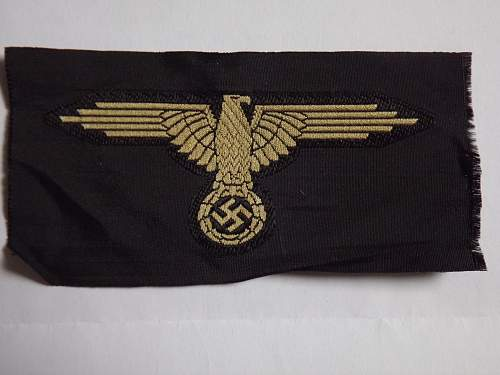 SS tropical EM/NCO sleeve eagle