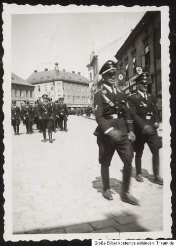 SS Aufmarsch, Ostmark, Sudetenland, Boehmen Maehren?