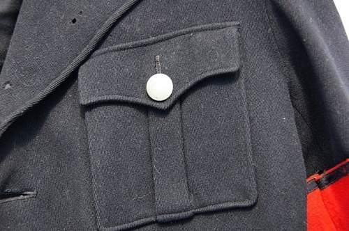 SS-Allg tunic buttons markings