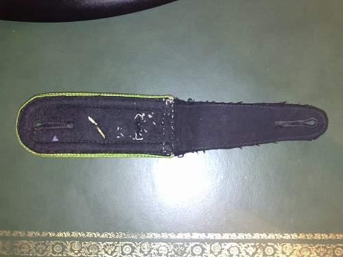 SS shoulder straps?