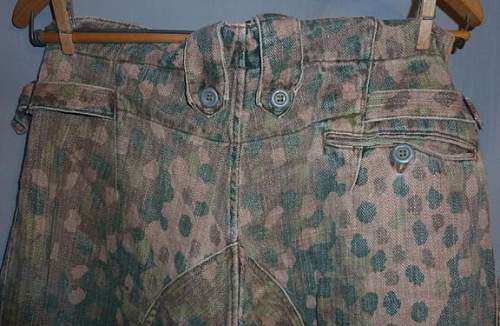 Opinions on these Erbsenmuster pattern pants please