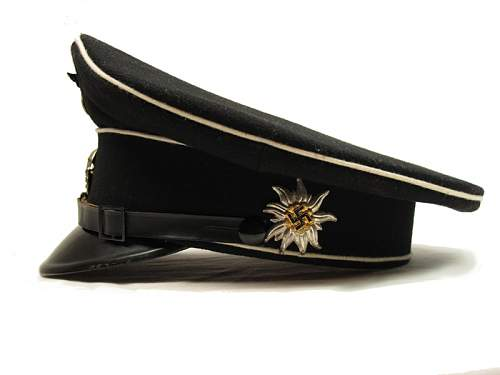 What is he insignia on this SS NCO's cap?