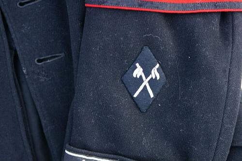 SS Rider school shoulder title