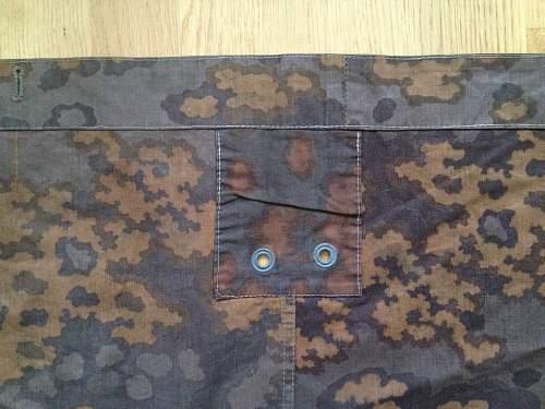 Waffen SS oakleaf zeltbahn