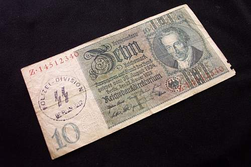 SS Marked Money