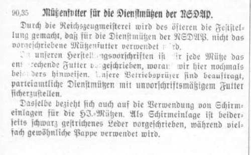 SS Untersturmfuhrer rank tab
