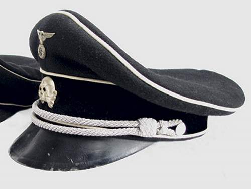 Click image for larger version.  Name:black leather peaked cap.jpg Views:175 Size:43.8 KB ID:470856