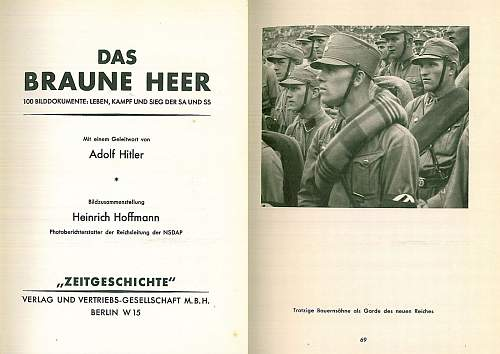 Vom RFSS befohlene Ausfuerhung: explanation from June 1934