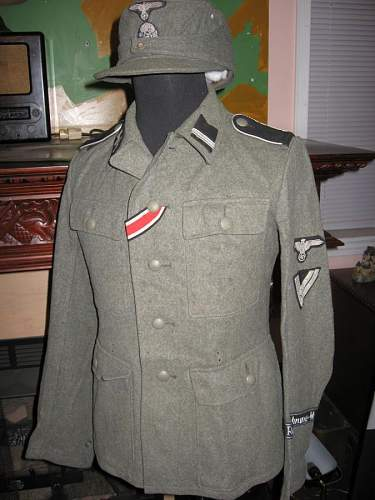 Found This SS Uniform in an ATTIC!!