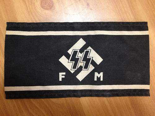 SS FM Armband for Review