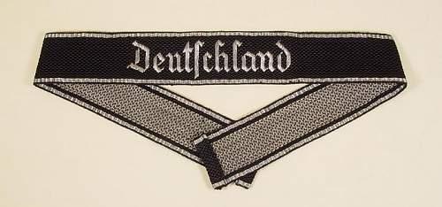 """Need help on SS """"Deutschland"""" flatwire cufftitle"""
