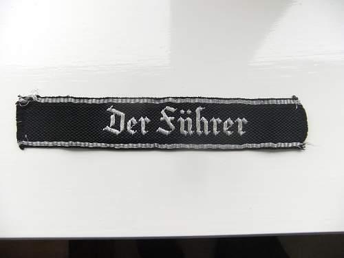 Der Fuhrer Armelsteifen !!