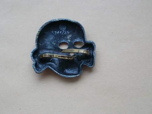 SS Insignia Skull